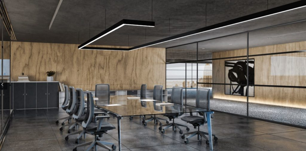 Luxia innendørsbelysning kontorbelysning møteromsbelysning