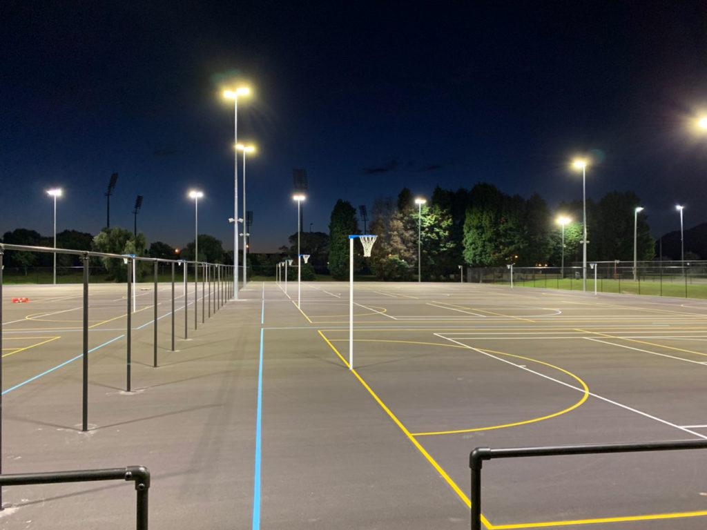 Luxia utendørsbelysning idrettsbelysning